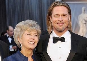 Jane and Brad Pitt