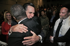 Romney and Brown