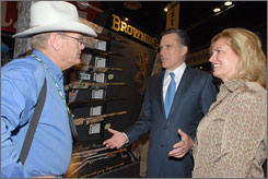 Romney at SHOT Show