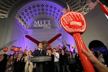 Romney in Florida (click to enlarge)