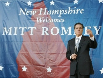 NH Welcomes Mitt